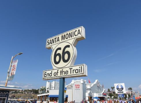 Route 66 Santa Monica End of Trail